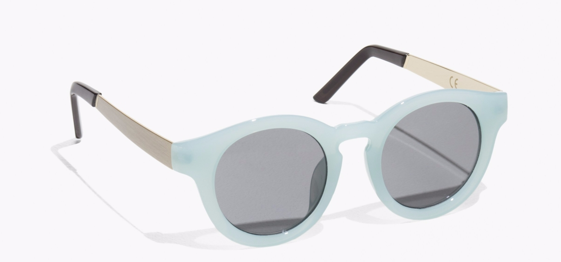 & Other Stories round sunglasses, AED 139 Baby Blue copy