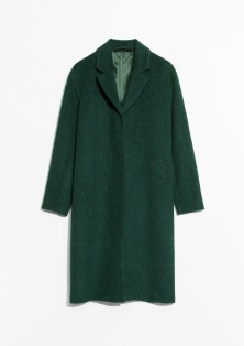 & Other Stories, Wool and Mohair Blend Long Coat AED999