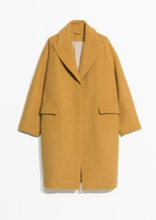 & Other Stories, Wool Blend Oversized Coat AED999