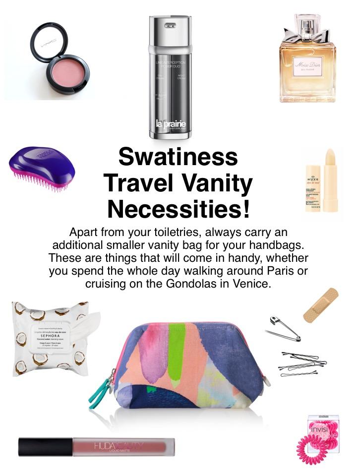 Swatiness- Travel Necessities 1